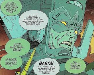 Lo splendido Galactus di Moebius